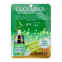 Маска тканевая для лица Malie System Cucumber, фото 1