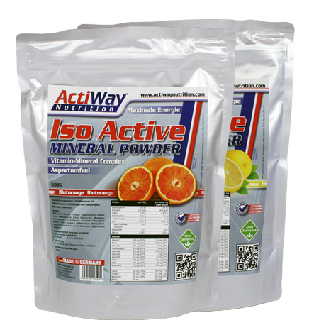 ActiWay Iso Active Mineral Powder 600g