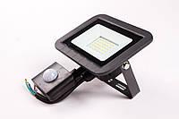 Прожектор с датчиком движения Luxel LED ECO 20W 6500K, (LPES-20C 20W), фото 1