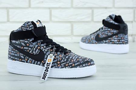 ab337141 Мужские демисезонные кроссовки в стиле Nike Air Force 1 Mid / высокие (40,  41