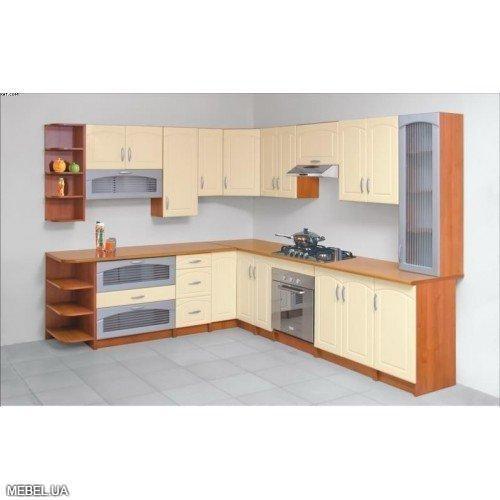 Угловая кухня Лира Світ Меблів