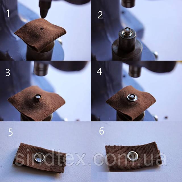 инструмент для установки люверсов