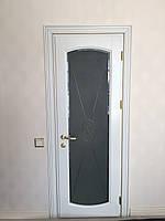 Витраж в межкомнатную дверь