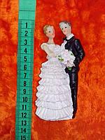Свадебная фигурка для свадебного торта 11 см (24)