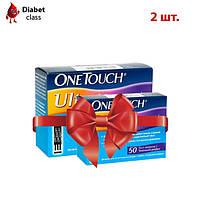 Тест-полоски OneTouch Ultra №50 (2 упаковки)