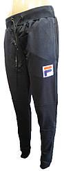 Штаны спорт мужские манжет карманы F 46-52 (деми)