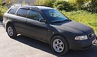 Дефлекторы окон (ветровики) Audi A4 Avant (B5/8D) 1996-2001 (Ауди А4 Авант) Cobra Tuning
