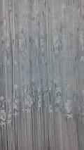 """Шторы нити """"Листья"""" серый, фото 2"""