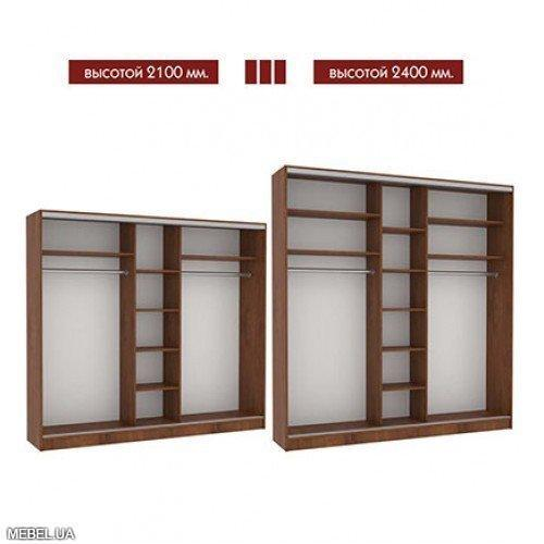 Шкаф купе 230 Мебель Стар