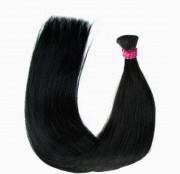 Натуральные волосы в срезах 55 см  100 грамм