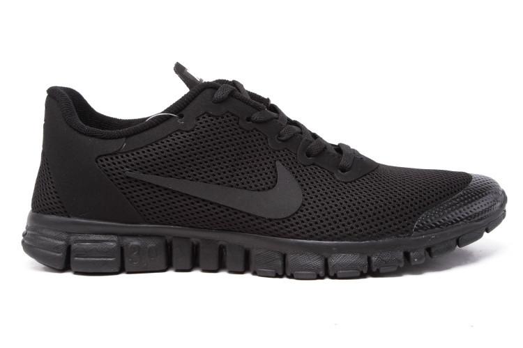 """Кроссовки Nike Free Run 3.0 """"Черные"""""""