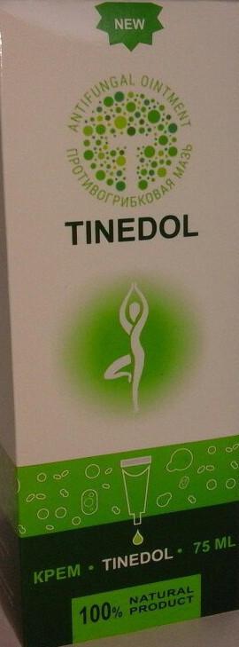 Тинедол (Tinedol) Крем-мазь от грибка ногтей и стоп 12519