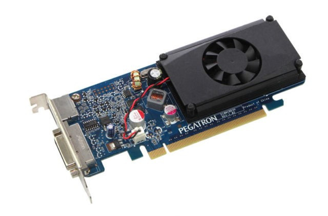 Видеокарта GeForce GT310 DDR3 512Mb 64bit Nvidia НИЗКАЯ задняя планка!!!
