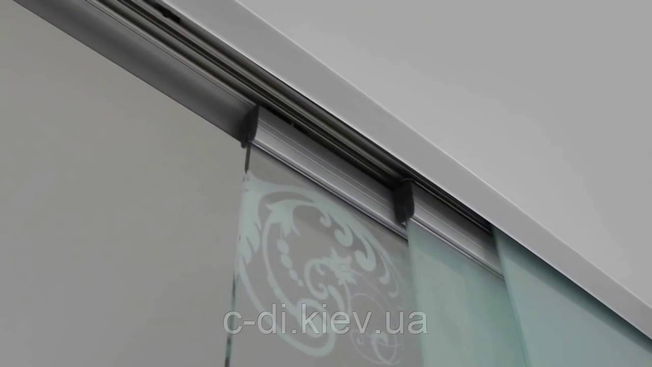 Телескопическая раздвижная система для стеклянных дверей и перегородок (Испания)