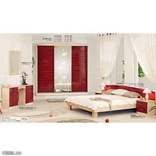 Спальня СП-497-498 Комфорт Мебель