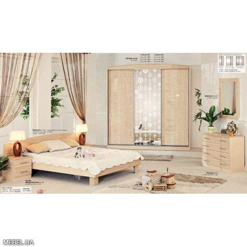 Спальня СП-502 Комфорт Мебель
