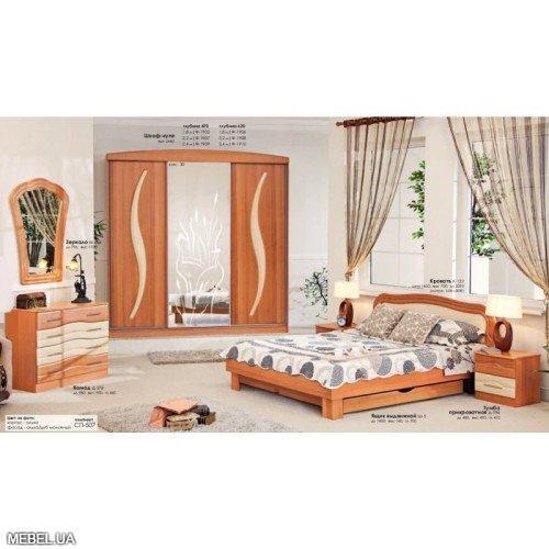 Спальня СП-507-508 Комфорт Мебель