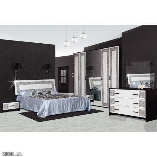 Спальня Бася Новая Світ меблів