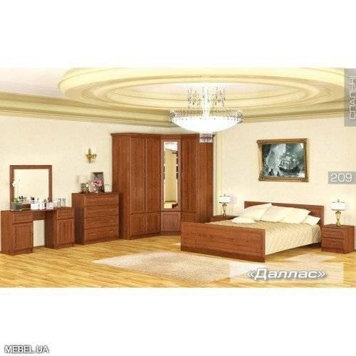 Спальня Даллас 2 Мебель Сервис