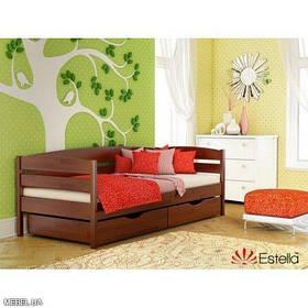 Кровать Нота Плюс щит 90х200