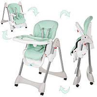 Детский стульчик для кормления Bambi Мята (M 3216-5-2_int)