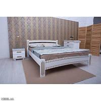Кровать Милана люкс белая 160х200 Олимп