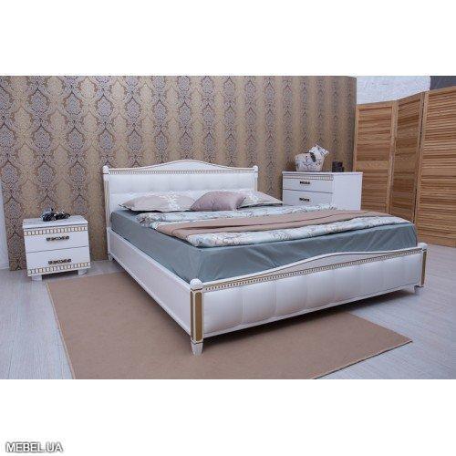 Кровать Прованс+ 160х200 белая Олимп