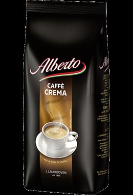 Кофе в зернах Alberto caffe crema 1 кг Германия