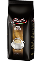 Кава зерно Alberto caffe crema 1 кг Німеччина