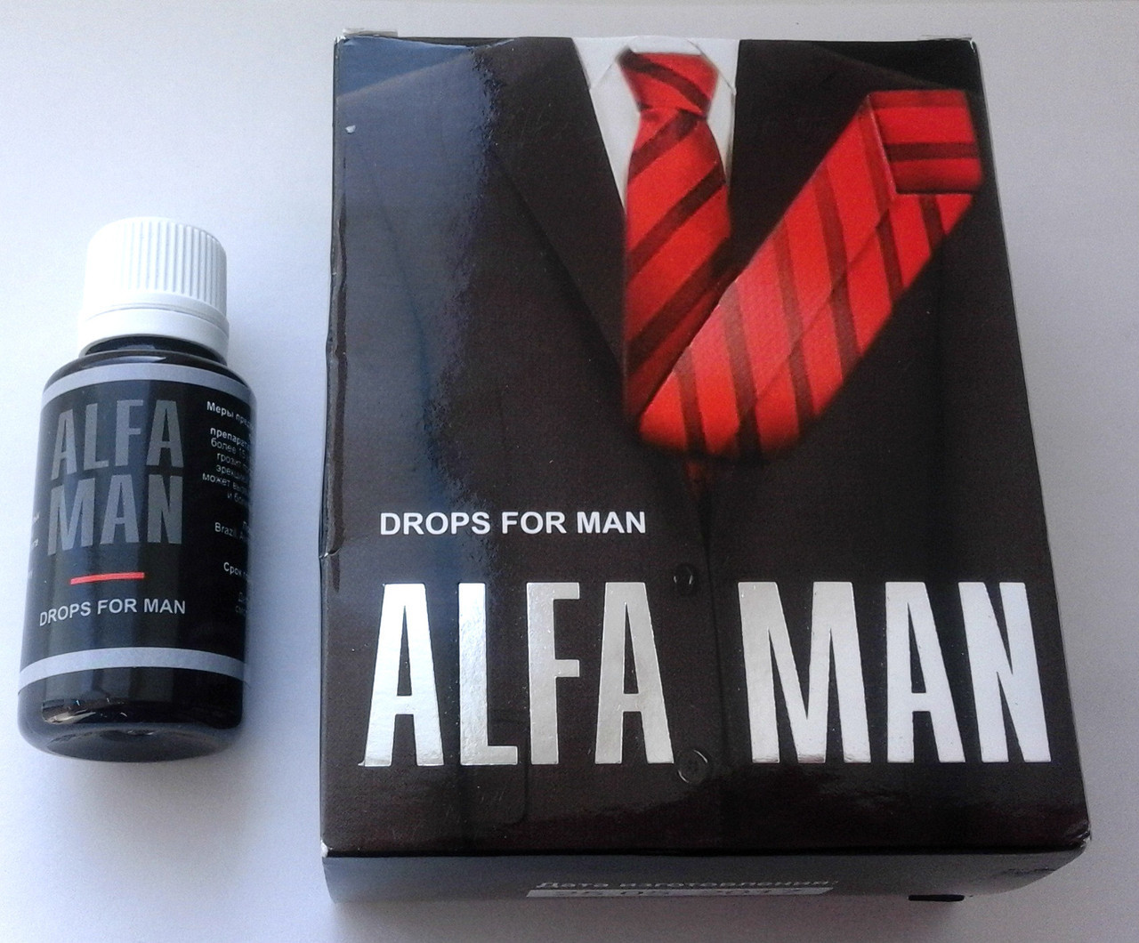 Alfa Man (Альфа Мен) капли для потенции