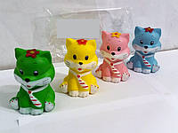Сквиш-игрушка антистресс кошечка