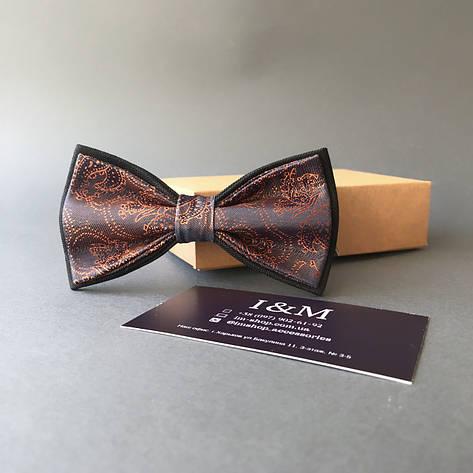 Краватка-метелик I&M Craft фіолетовий з переливом (0102004005), фото 2