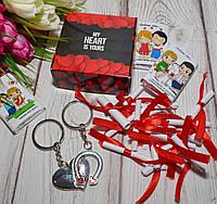 """Набор на 14 февраля """"Мое сердце принадлежит тебе """", фото 1"""