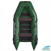 Надувная лодка ARGO AM-330 моторная зеленая