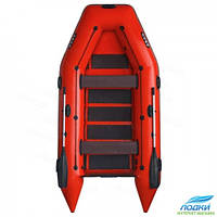 Надувная лодка ARGO AM-330 моторная красная