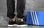 Мужские кроссовки Adidas Iniki (черно-белые), фото 2