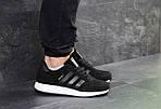 Мужские кроссовки Adidas Iniki (черно-белые), фото 3