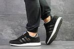 Мужские кроссовки Adidas Iniki (черно-белые), фото 4