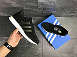Мужские кроссовки Adidas Iniki (черно-белые), фото 5