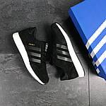 Мужские кроссовки Adidas Iniki (черно-белые), фото 6