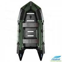 Надувная лодка Aqua Star K-330 моторная зеленая