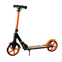 Самокат с большими колесами Scale Sports SS-15  Orange