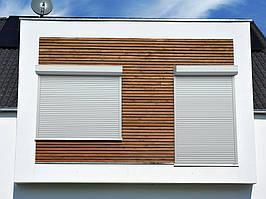 Роллеты витринные взломостойкие из экструдированного профиля DoorHan RHE58M