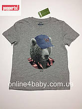 Детская футболка Pepperts на мальчика 6-8 лет, рост 122/128