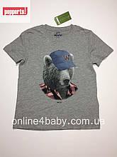 Дитяча футболка Pepperts на хлопчика 6-8 років, зріст 122/128