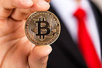 Cувернирна крипто монета Bitcoin (BTC) Биткоин, фото 1