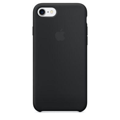 Чехол Apple iPhone 7/8 Silicone Case -   Black