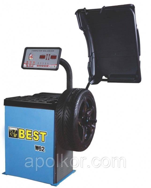 Балансировочный станок BEST W62, стенд балансировочный
