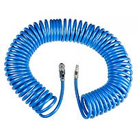 Шланг для компрессора спиральный полиуретановый Sigma 20 м