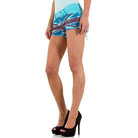 Женские шорты Simply Chic, размер L/40 - синий - KL-J-Q1469-4-blue L/40